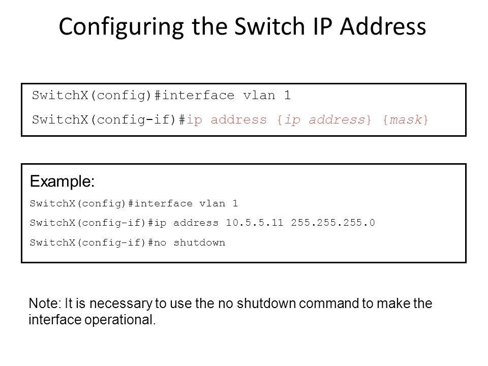 Cisco Router & Switch Configuration 1  Configuration modes