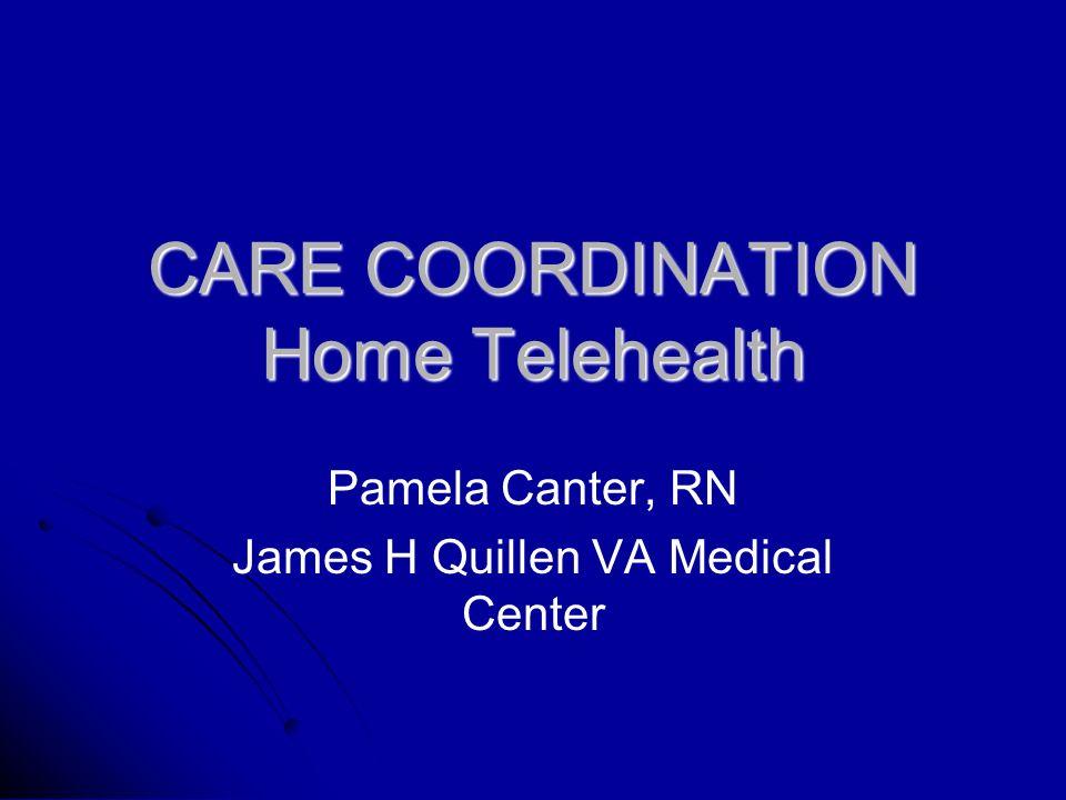 Care Coordination Home Telehealth Pamela Canter Rn James H Quillen