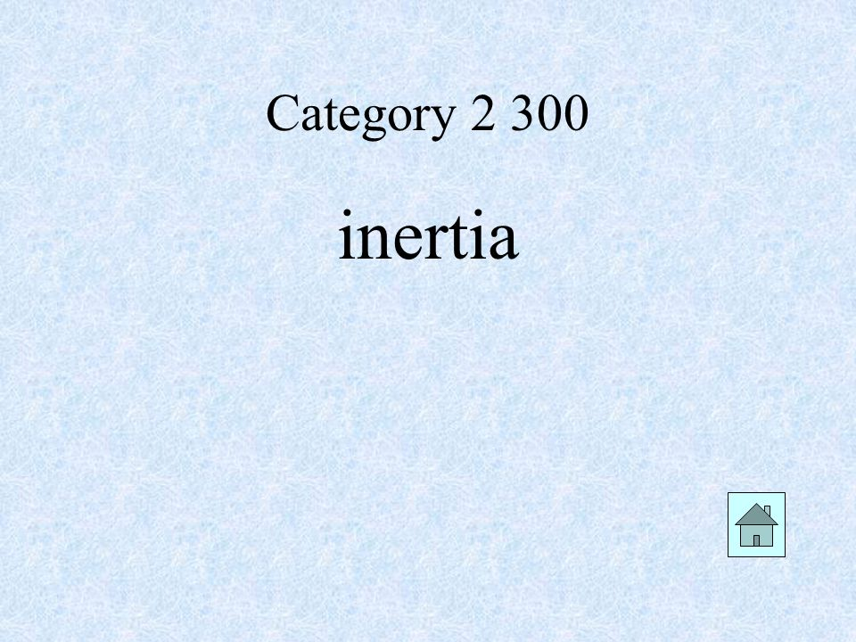 Category inertia