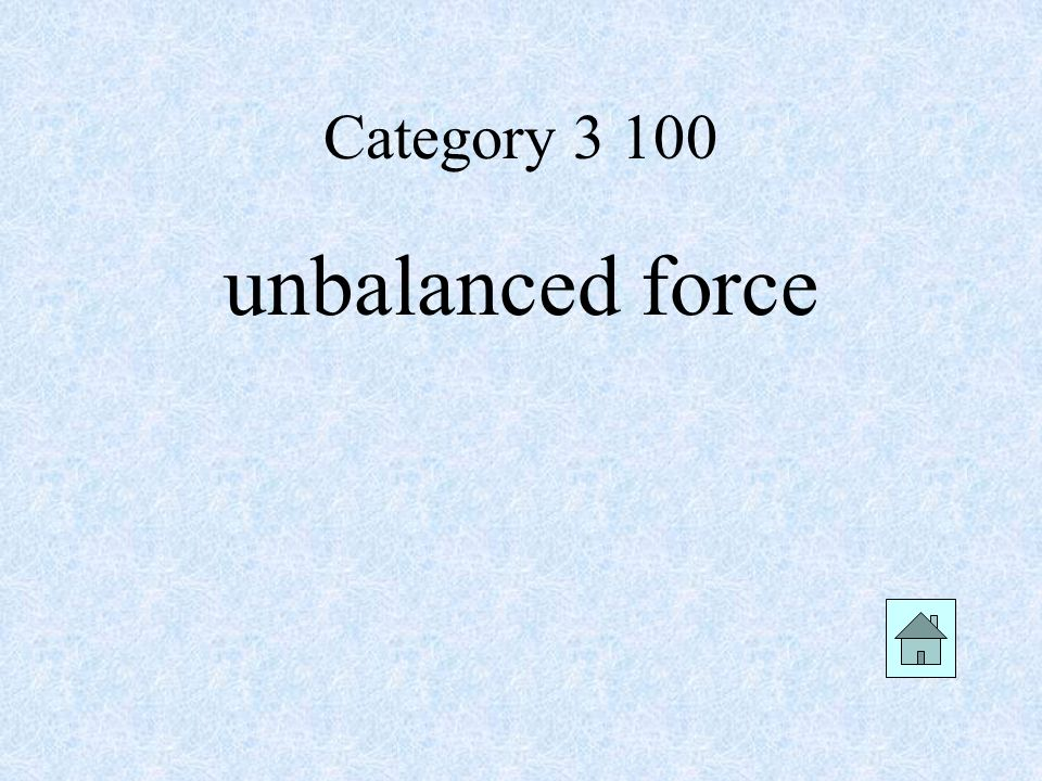 Category unbalanced force