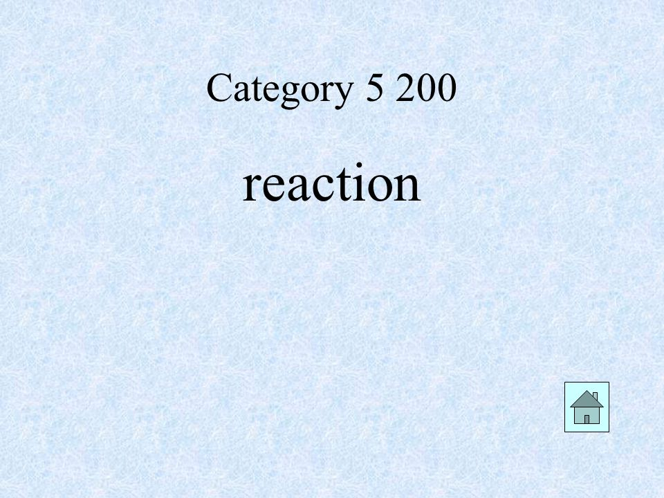 Category reaction
