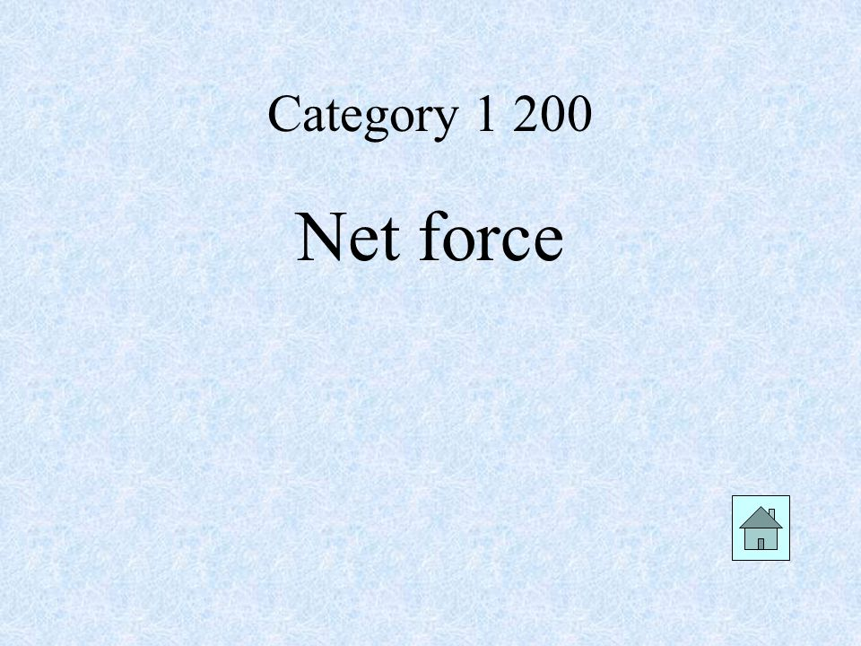 Category Net force