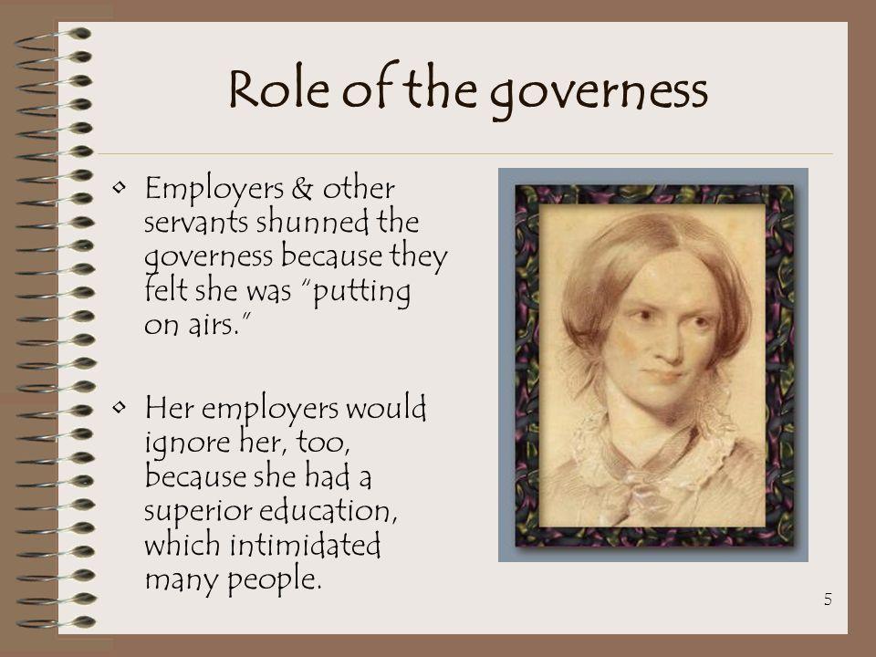 bronte governess