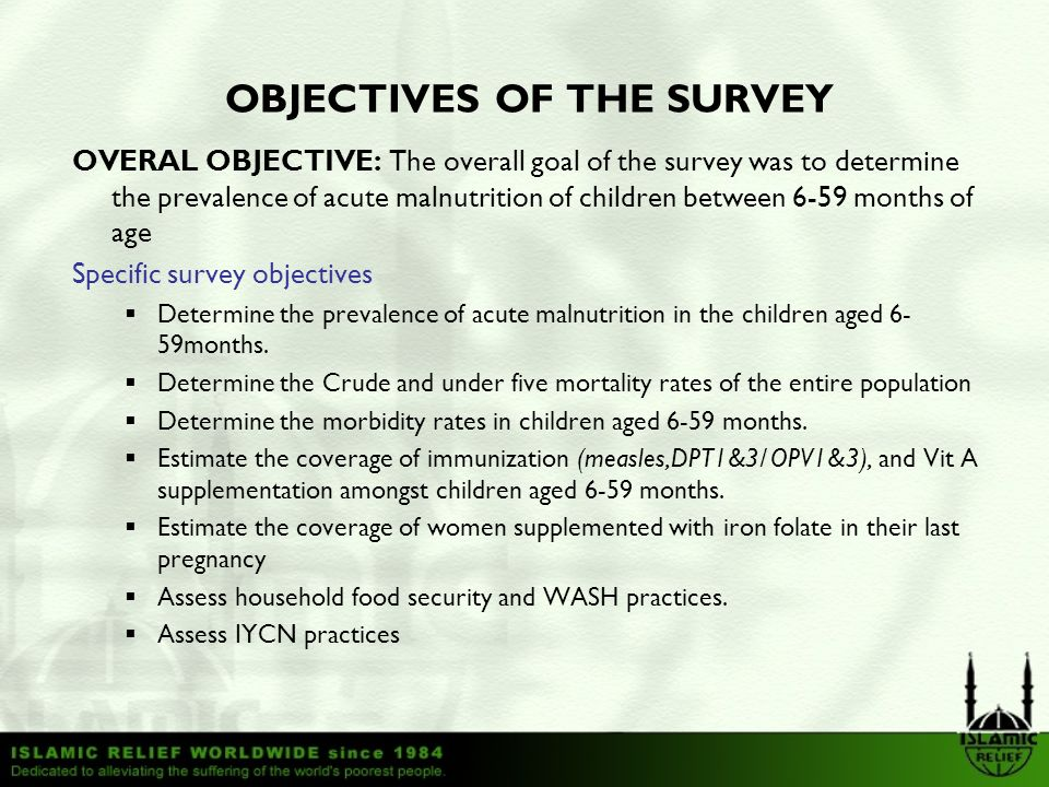 Wajir West and North Integrated Nutrition and Mortality survey