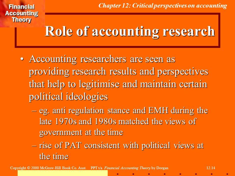 critical accounting theory