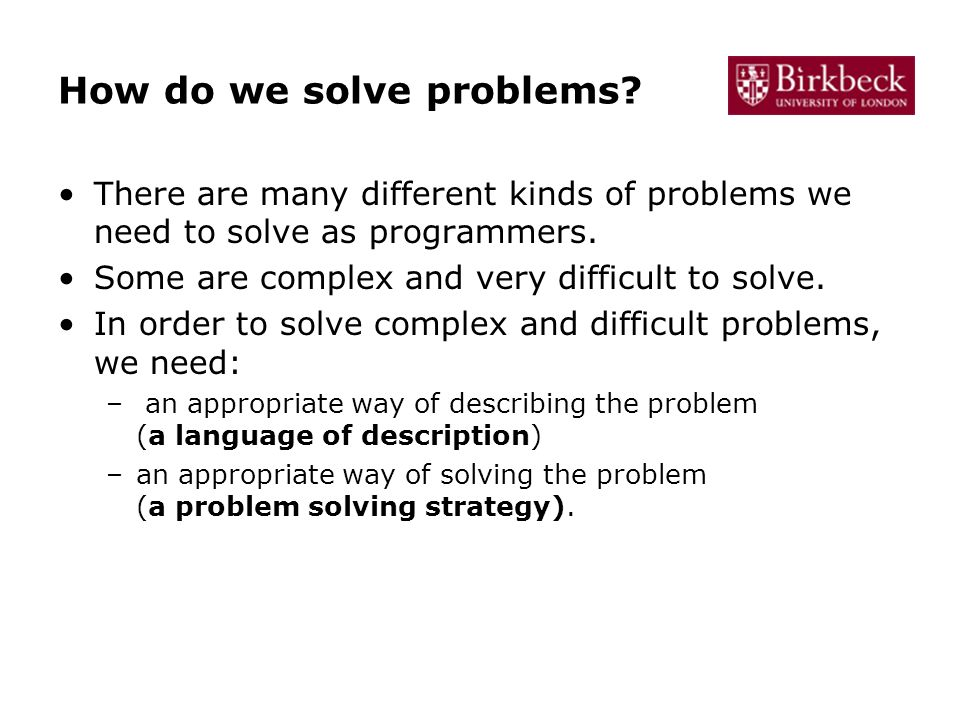 In order to solve the problems