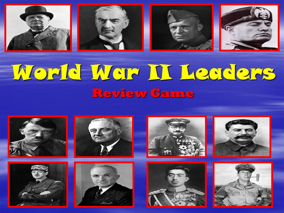 world war ii leadership essay Moreover, the book is an entertaining story of a leader who experiences the challenges and mistakes of command at every level of responsibility in a career that spans world war ii through vietnam, the cold war, and the planning for the military force we have today.
