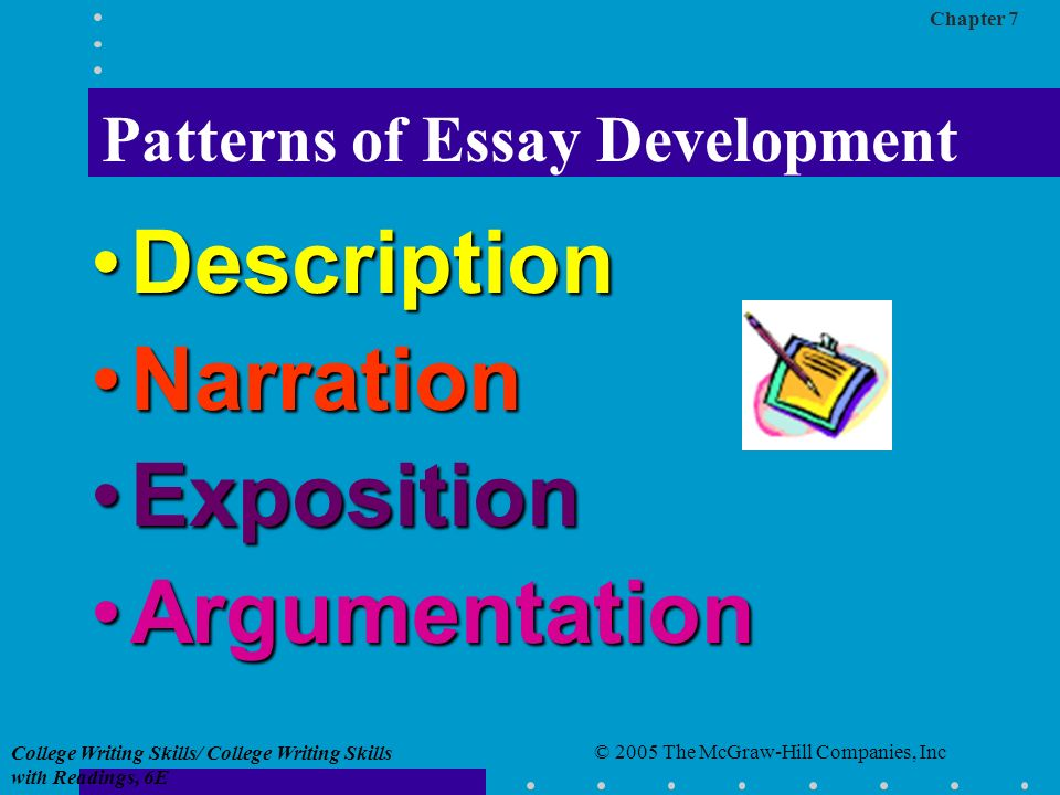 patterns for college writing essay About phdessaycom phdessay is an educational resource where over 40,000 free essays are collected scholars can use them for free to gain inspiration and new creative ideas for their writing assignments.