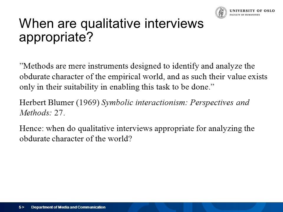 Qualitative Interviews Marika Lders Ppt Download