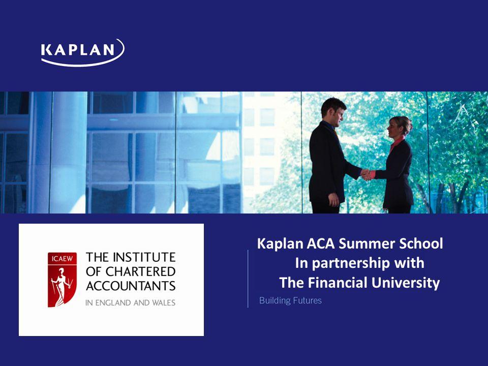 kaplan icaew case study