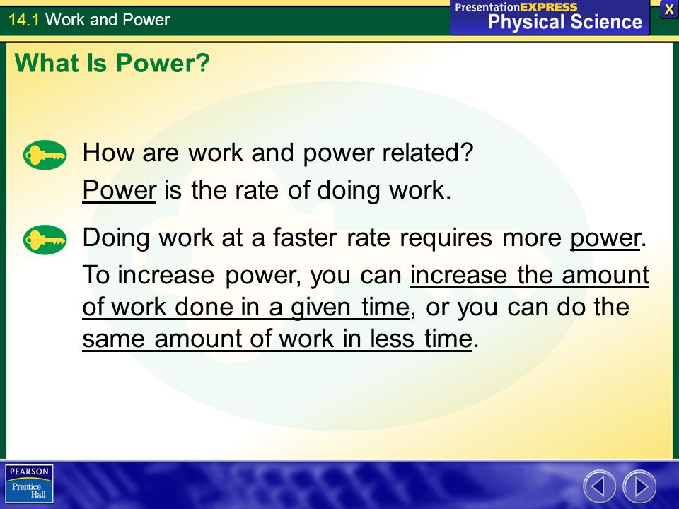 14 1 Work And Power Notes 14 1 For Background And Also For Lab On