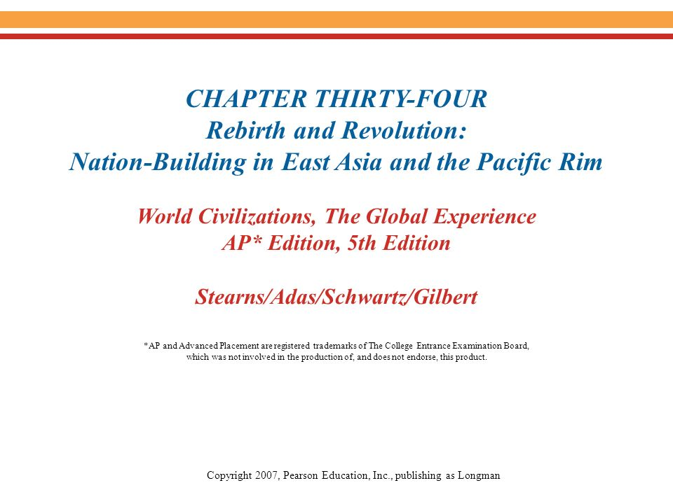World Civilizations The Global Experience AP Edition 5th