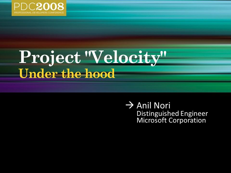  Anil Nori Distinguished Engineer Microsoft Corporation