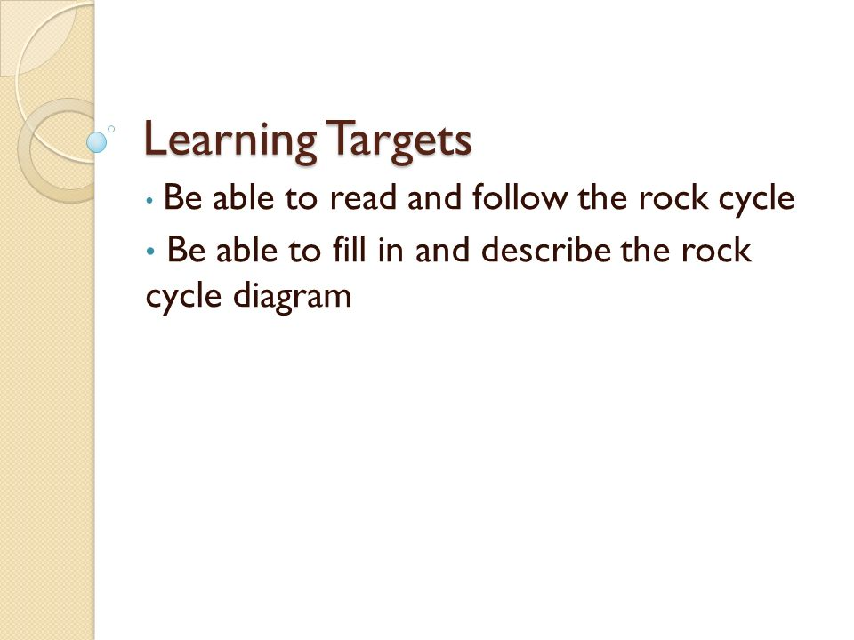 The rock cycle how are all rocks interconnected ppt download 2 learning ccuart Images