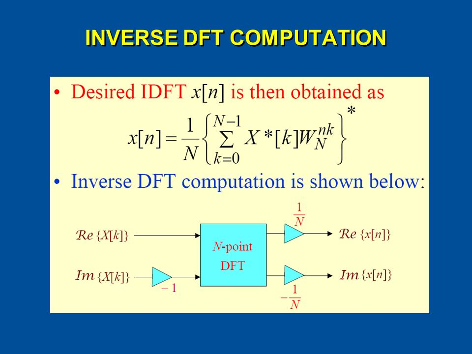 CHAPTER 8 DSP Algorithm Implementation Wang Weilian School of