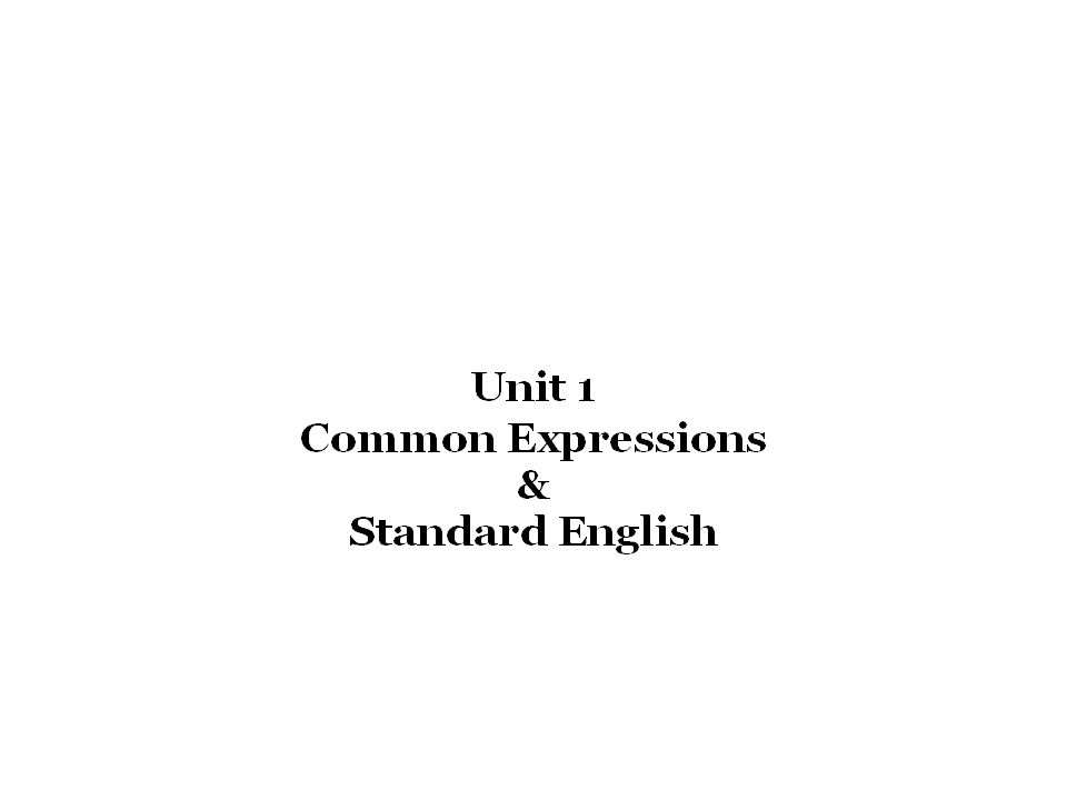 the standard english sentence order does which of the following
