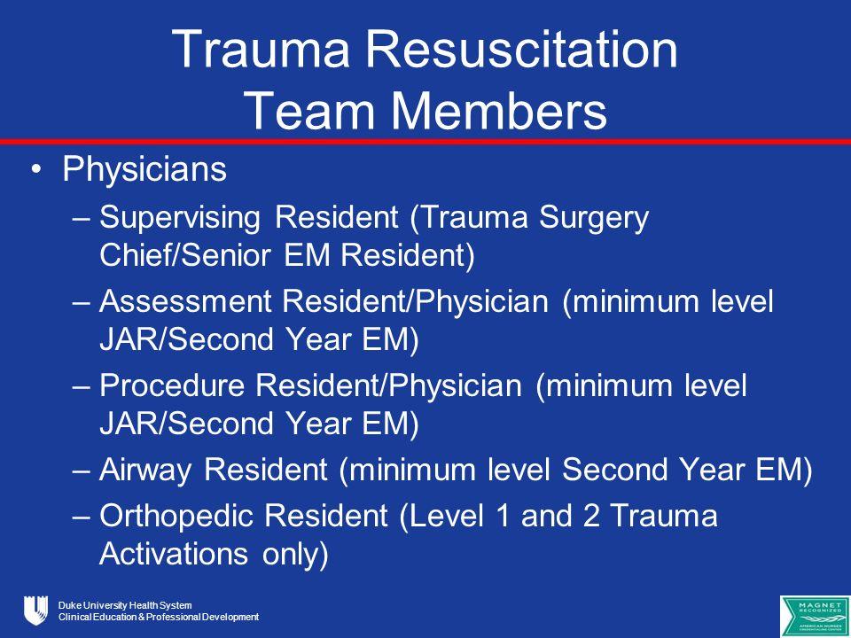 Duke University Health System Clinical Education & Professional