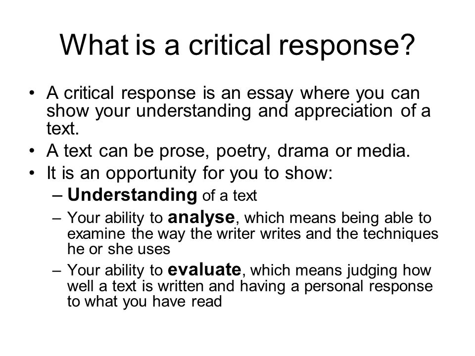 Essay Reflection Paper Examples Critical Essay Reading  What  Business Essays also What Is Thesis Statement In Essay Critical Essay Reading What Is A Critical Response A Critical  Essay Examples For High School Students