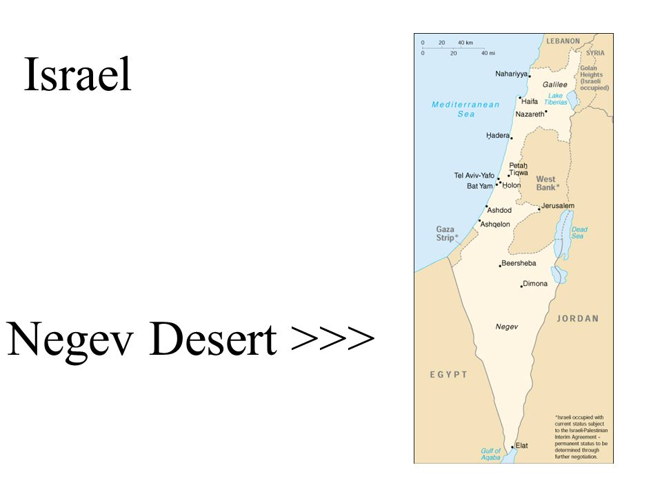 Israel Negev Desert >>> The Israeli Flag with Star of David. - ppt ...