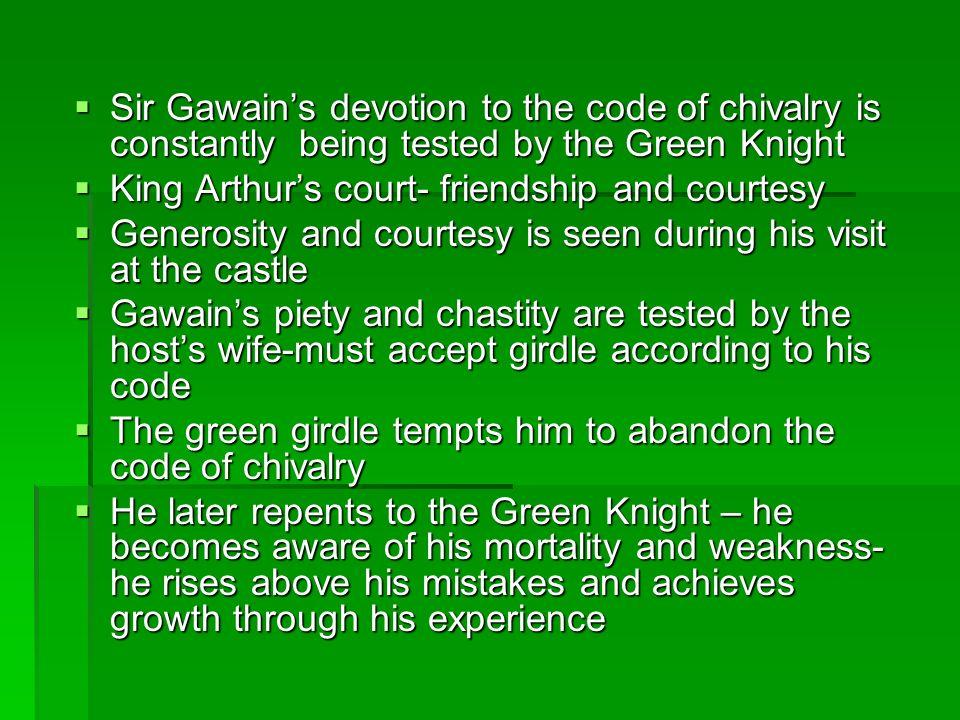 sir gawain and chivalry