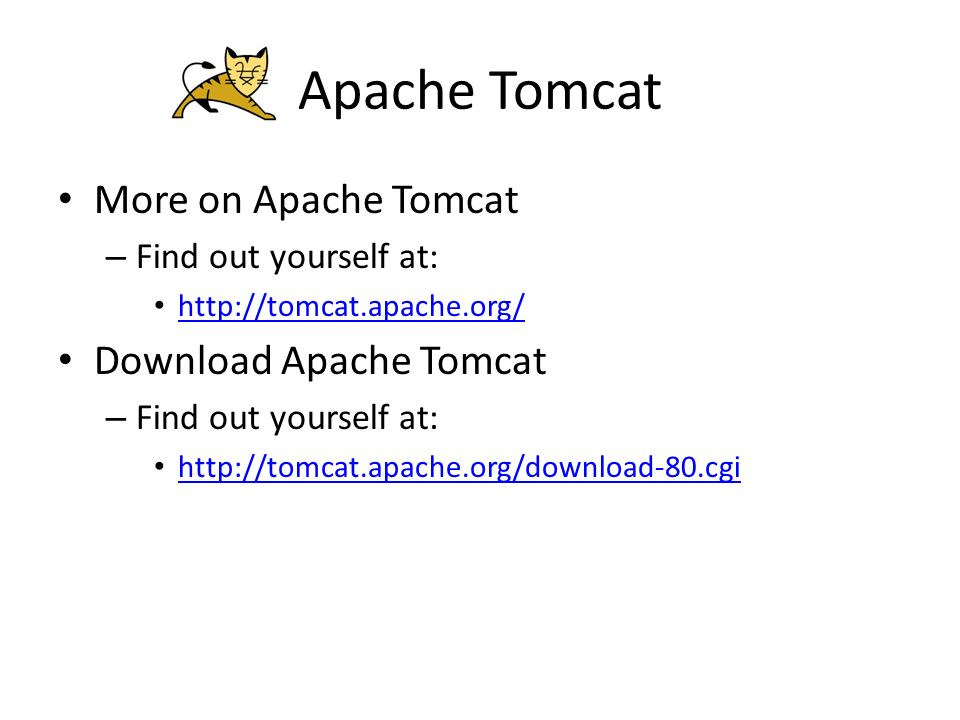 Apache Tomcat Lecture notes by Theodoros Anagnostopoulos