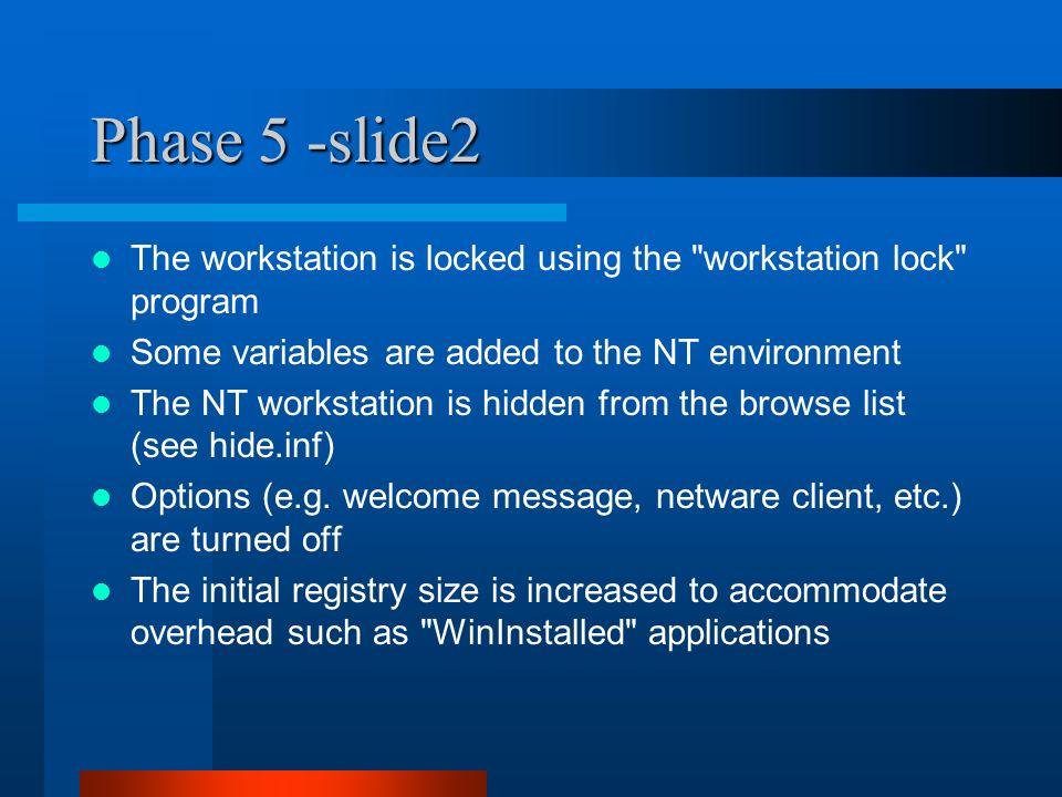 Automated Windows NT 4 0 Deployment Custom Installation