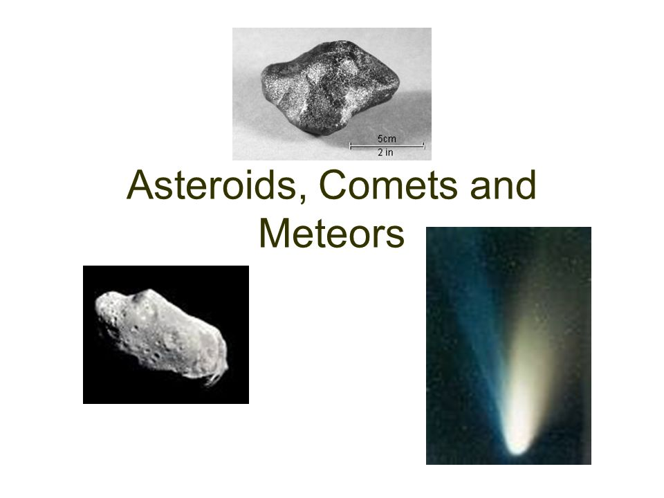compare and contrast asteroids and comets - 960×720