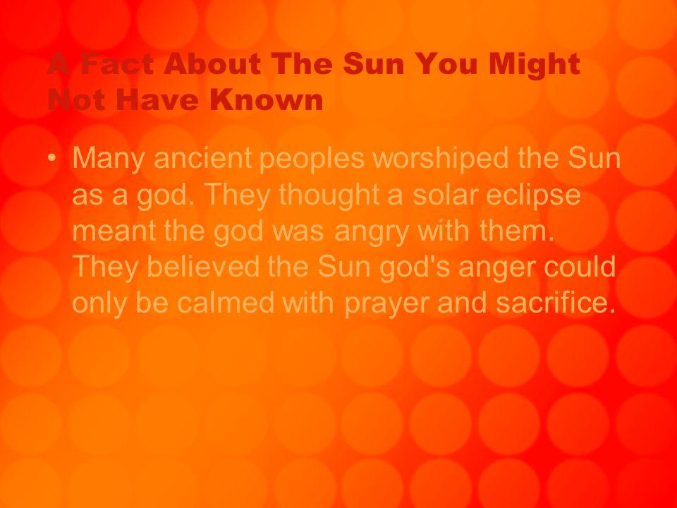 The Sun & Stars By: Shanika Bates  How Big Is The Sun The