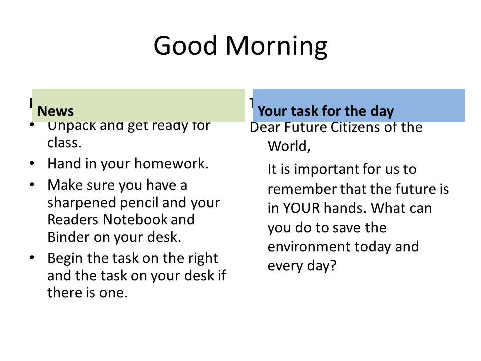 How to Make Homework Less Work