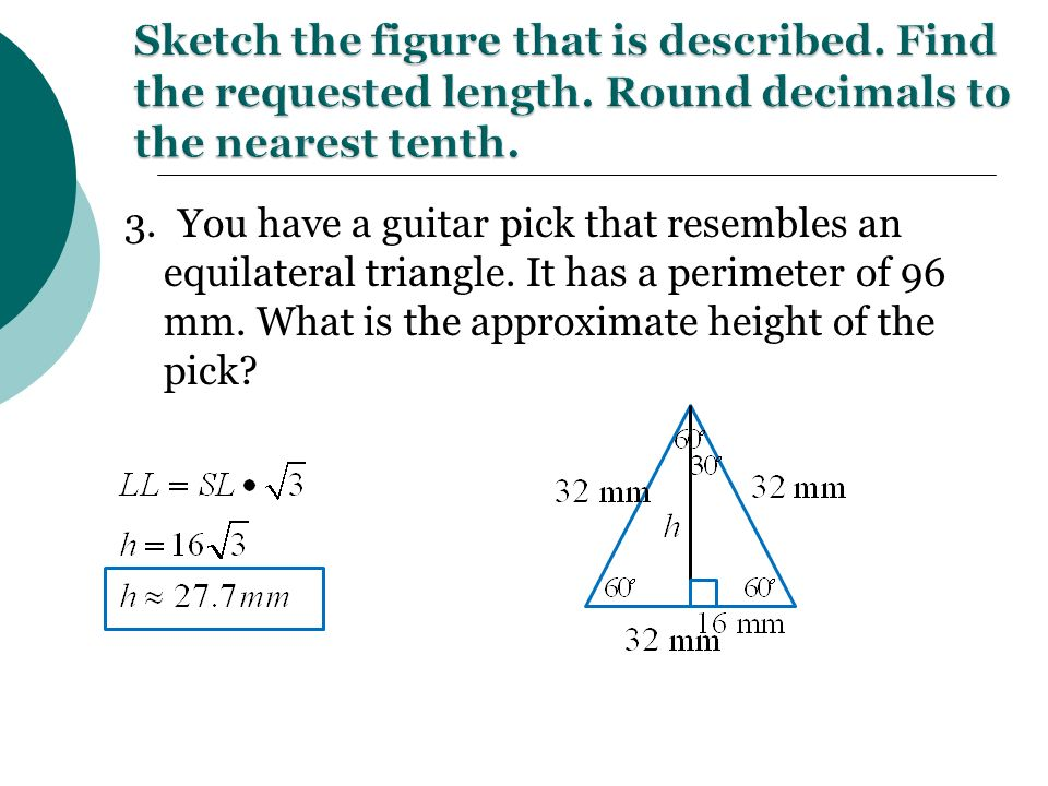 Special Right Triangles Eq How Do You Use The Properties Of. You Have A Guitar Pick That Resembles An Equilateral Triangle. Worksheet. Special Right Triangles Worksheet Form K At Clickcart.co