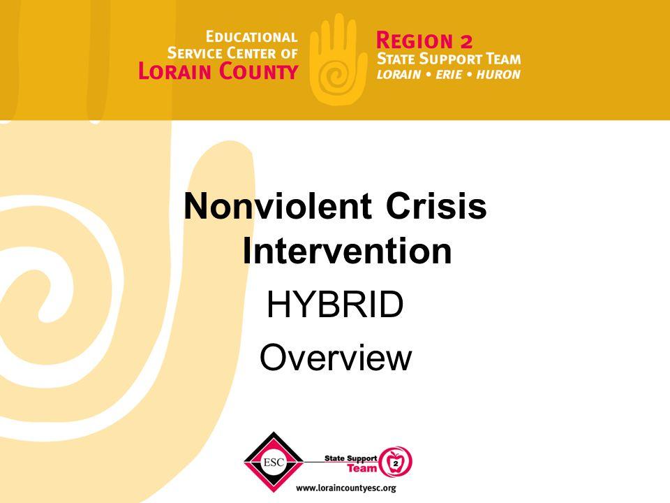 nonviolent crisis intervention hybrid overview certified trainer rh slideplayer com  instructor manual for the nonviolent crisis intervention training program