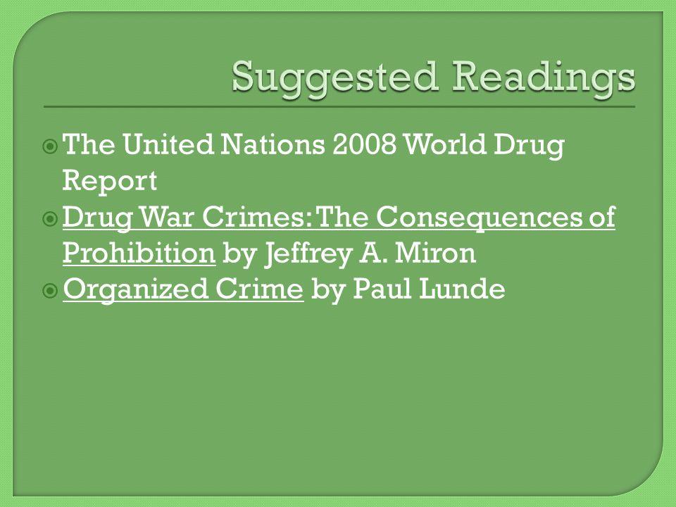 drug war crimes miron jeffrey a