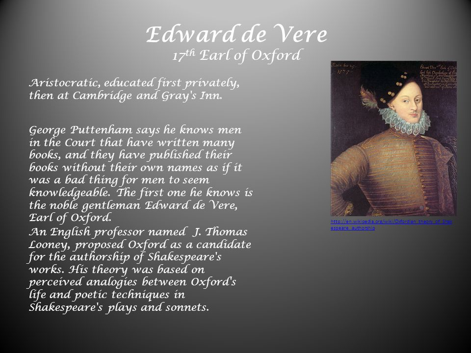 Was William Shakespeare the true author of 36 plays, 135 sonnets
