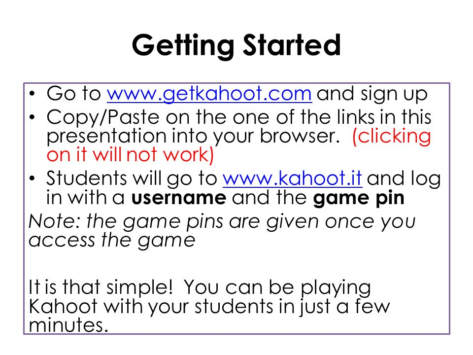 What is Kahoot? Kahoot is a game-based classroom response system