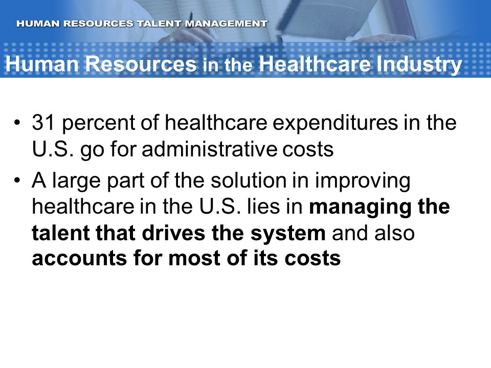 role of human resources in healthcare