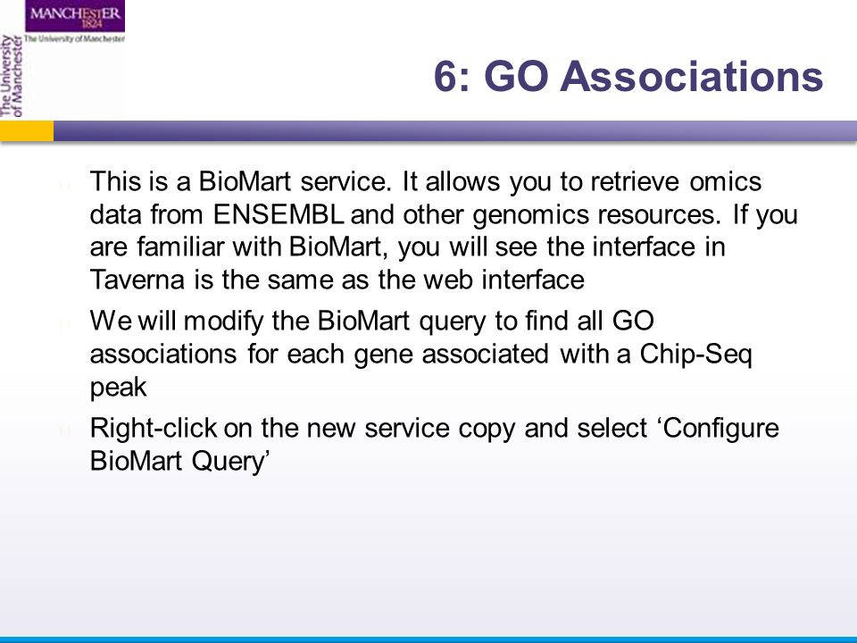 This is a BioMart service.