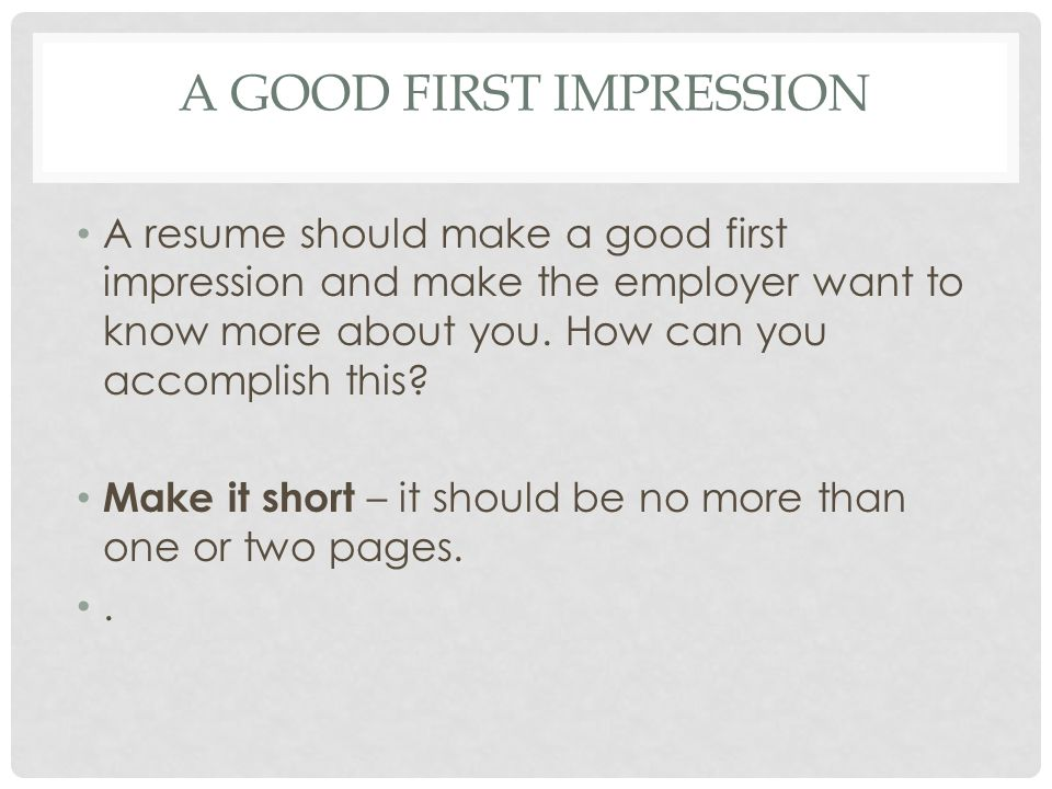Creating Resumes What Is A Resume A Resume Is The Summary Of Your