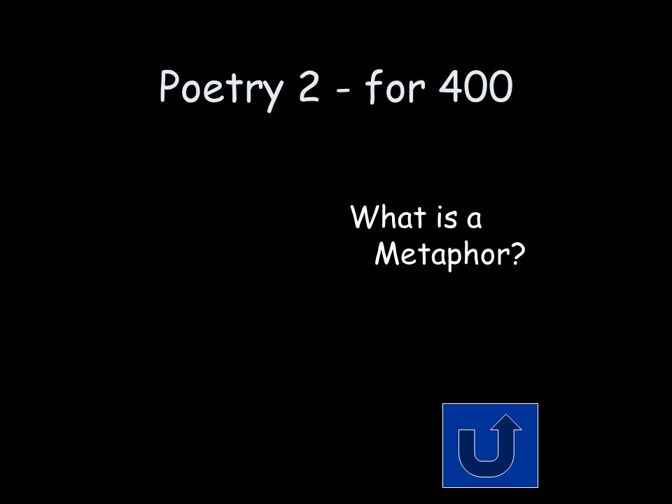 Poetry 2 - for 400 Remember to phrase your answer in the form of a question.