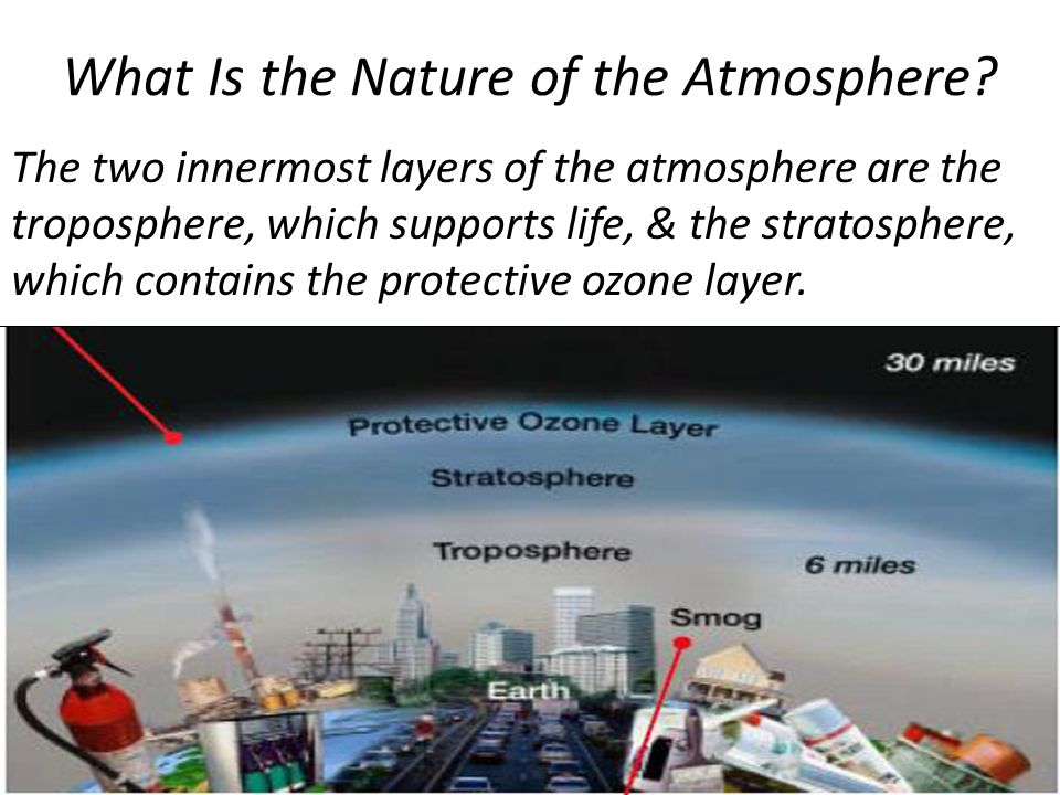 What Is the Nature of the Atmosphere.