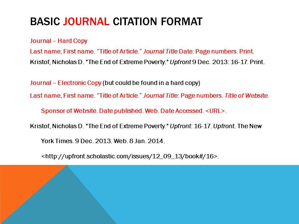 mla citation for a web site