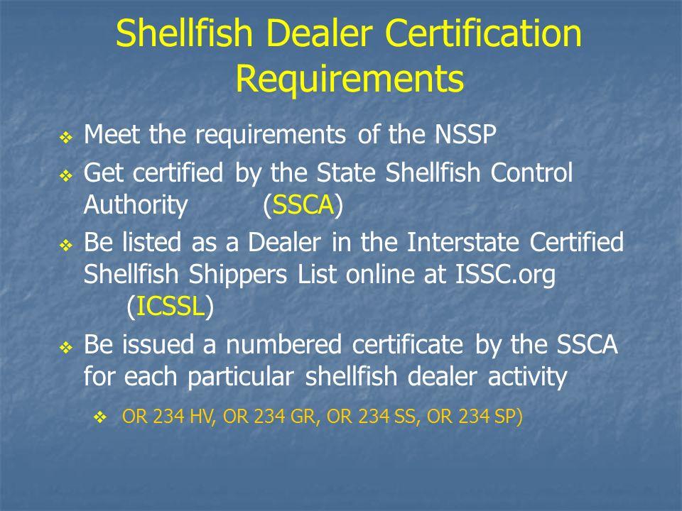 Basic Concepts of the National Shellfish Sanitation Program (NSSP ...