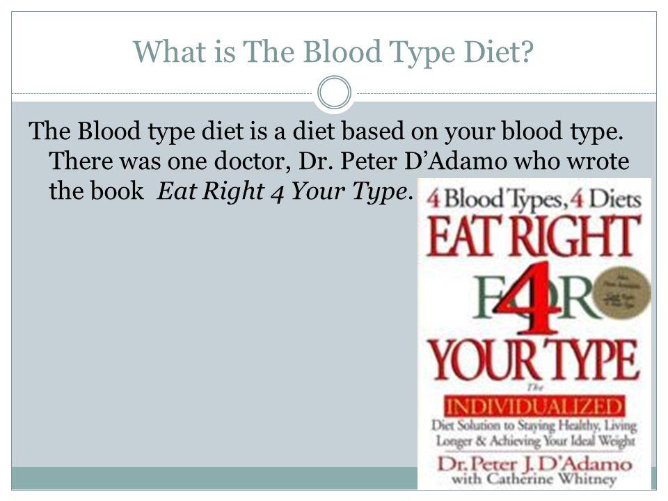doctor d blood type diet
