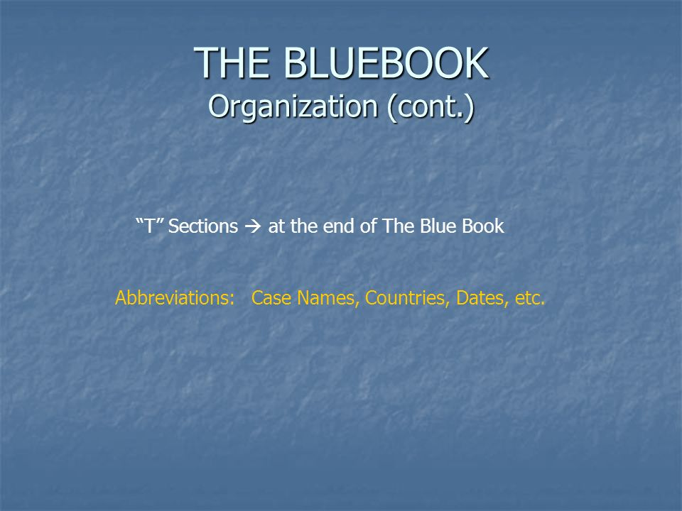 Bluebooking For Id Iots Orientation Student Comment Organization 2