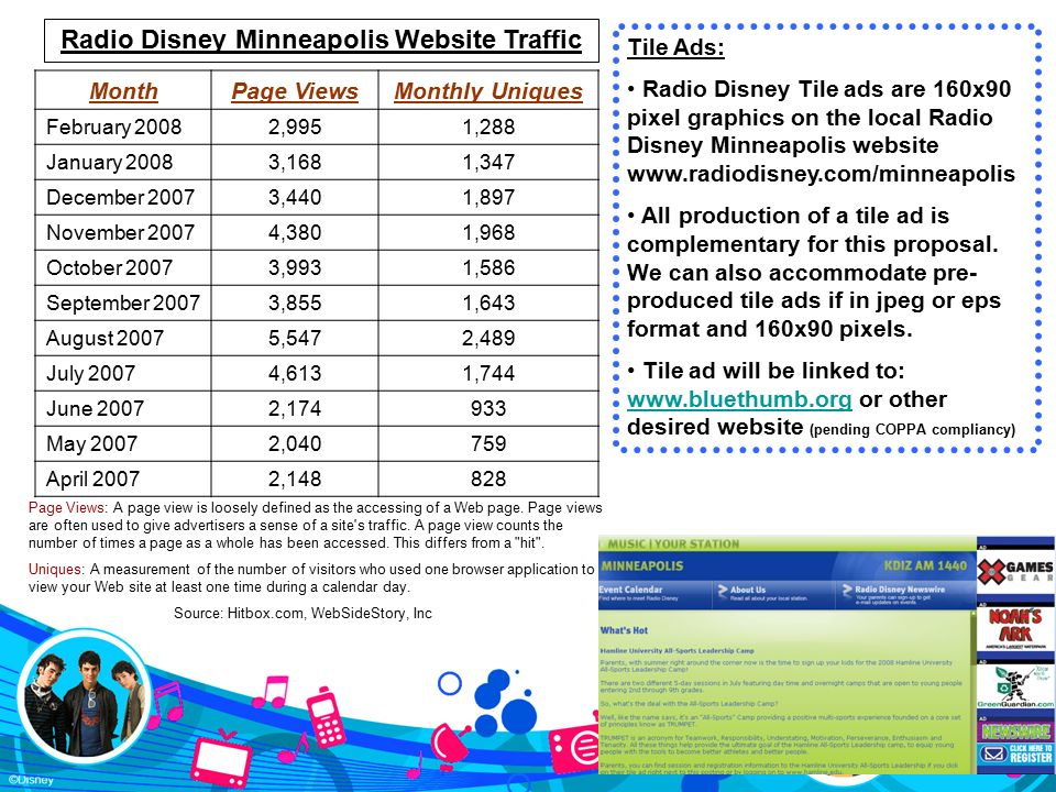 Radio Disney AM 1440 and Blue Thumb 2008 – 2009 Annual