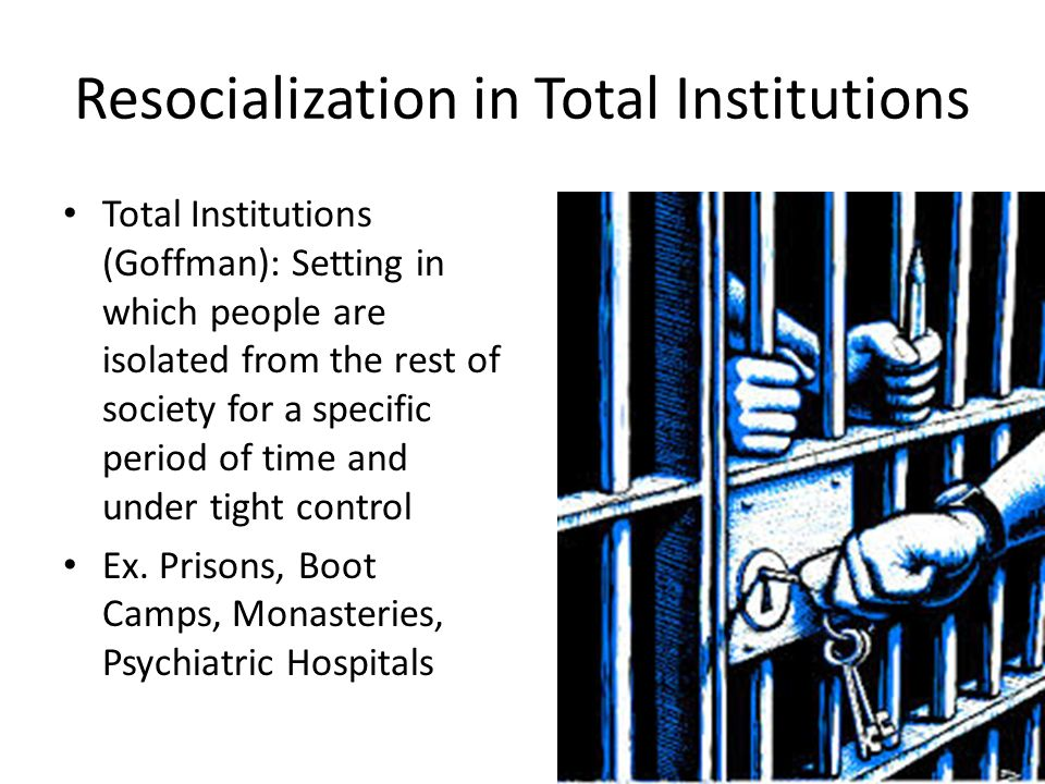resocialization examples