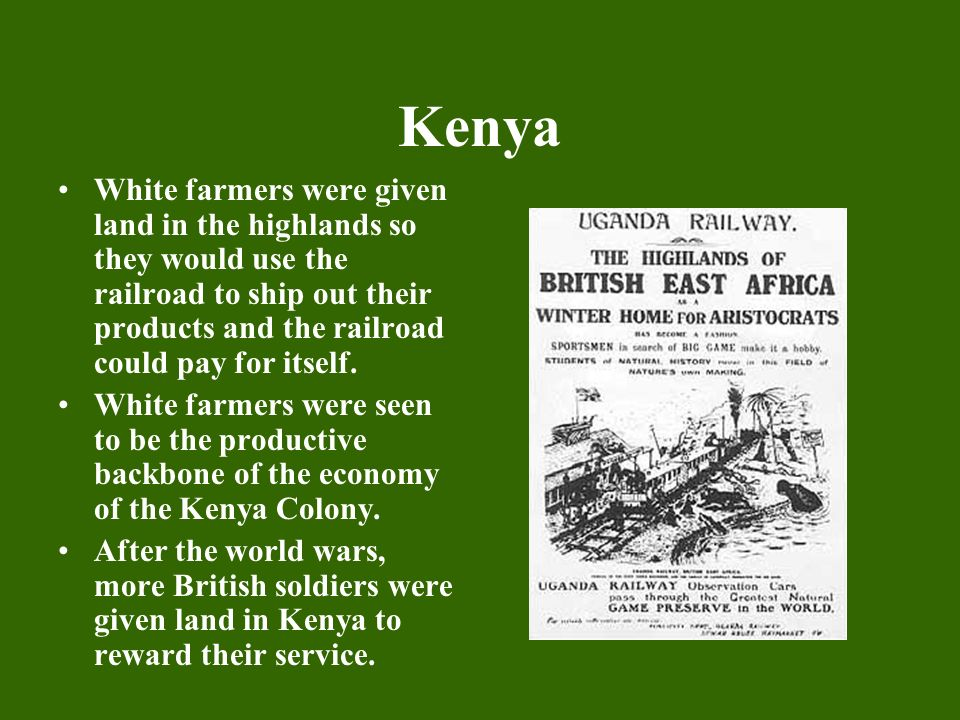 africa British railroad east