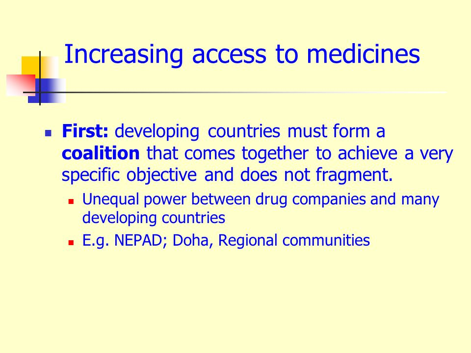 Need the medicines! No access? Take action! Eva M A Ombaka