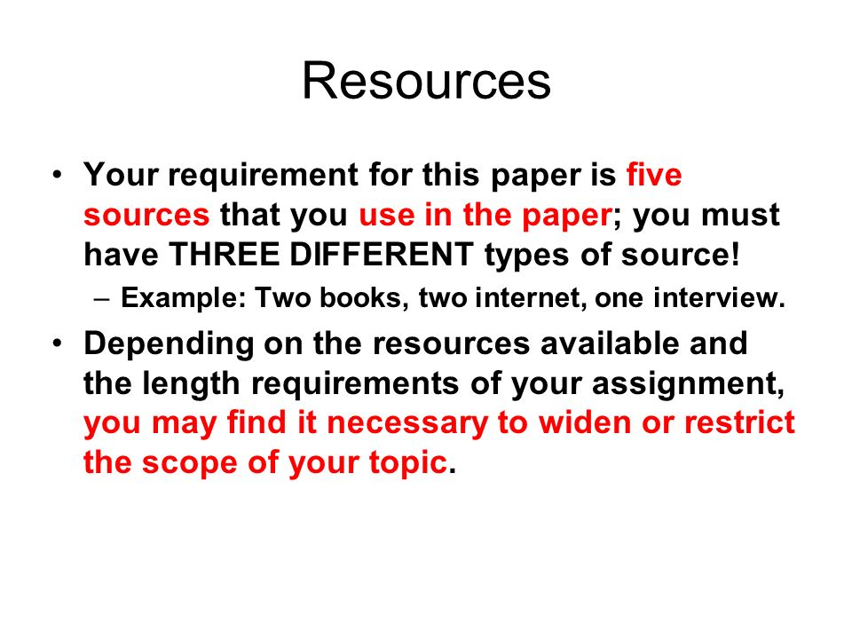 four types of research papers