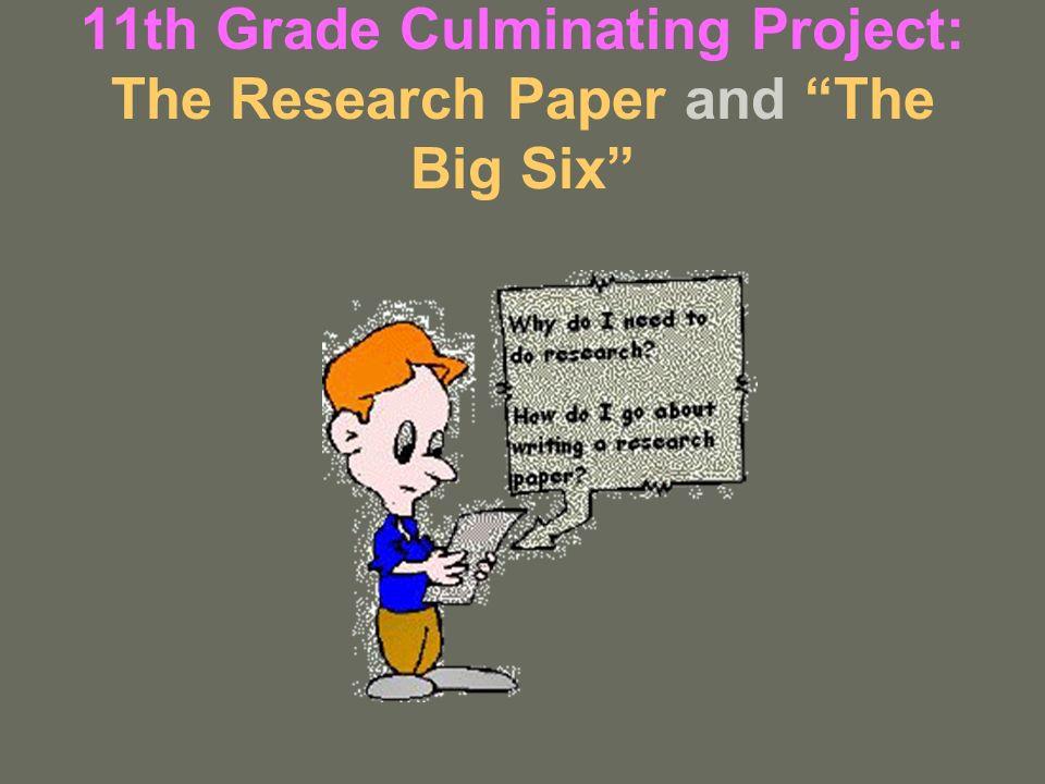 11th grade research paper