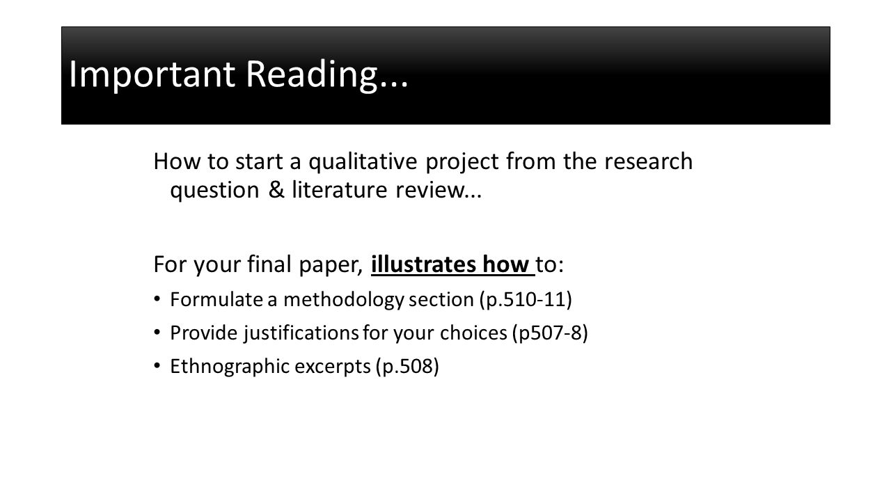 dissertation results section qualitative Writing results section of dissertation for thematic analysis in a qualitative research report dissertation findings findings chapter results section you need to write a dissertation results and findings section that is a concise and well presented summary of your most relevant present your.